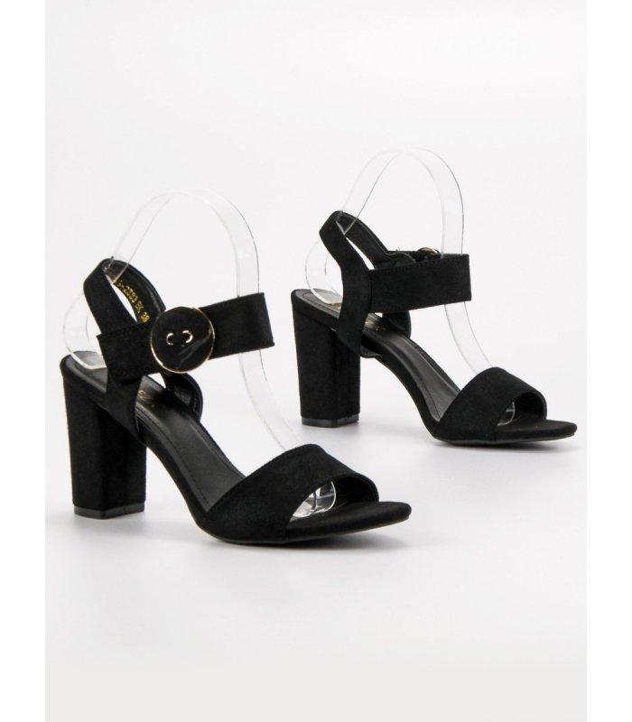 631e062bd675 Čierne sandále na stĺpci Vinceza - MojeBoty.sk