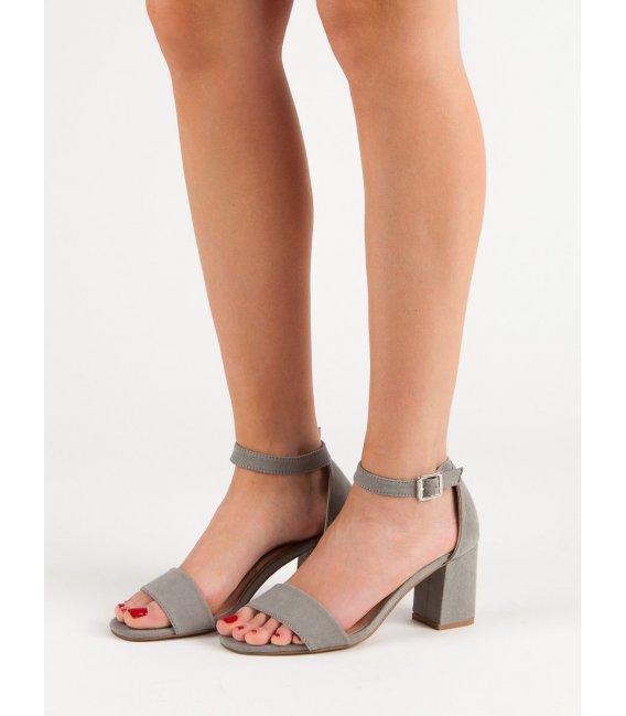 Semišové sandále na stĺpci Vinceza