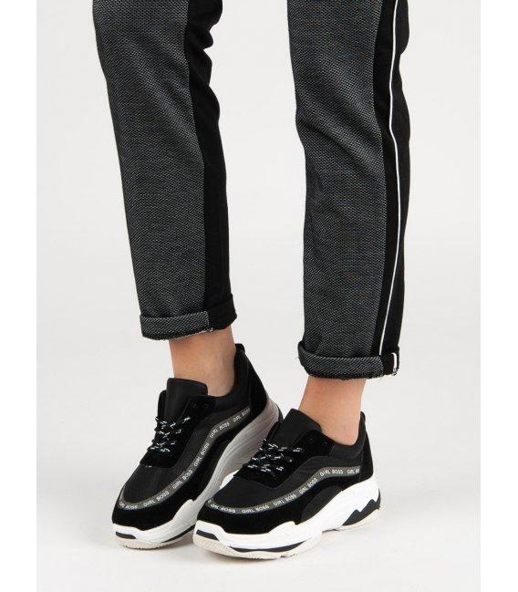 Čierne športové topánky Vices
