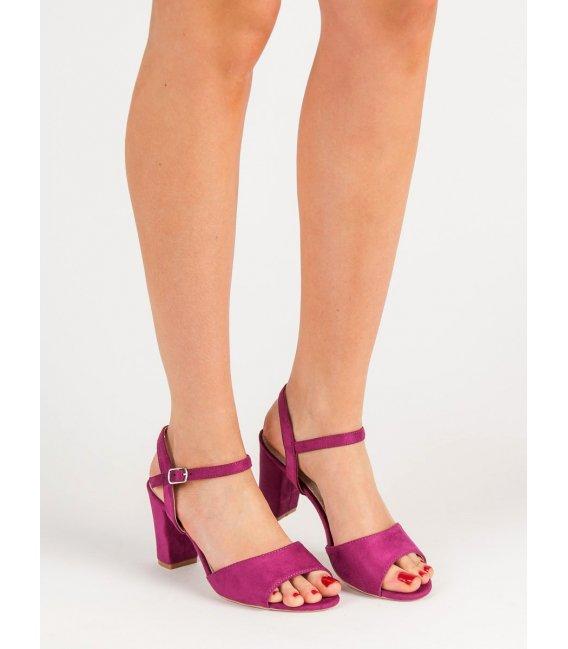 Sandálky na podpätku