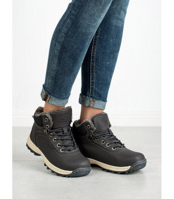 Zateplené trekové topánky