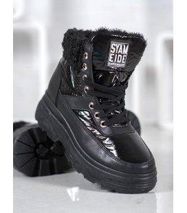 Sneakersy s kožúškom