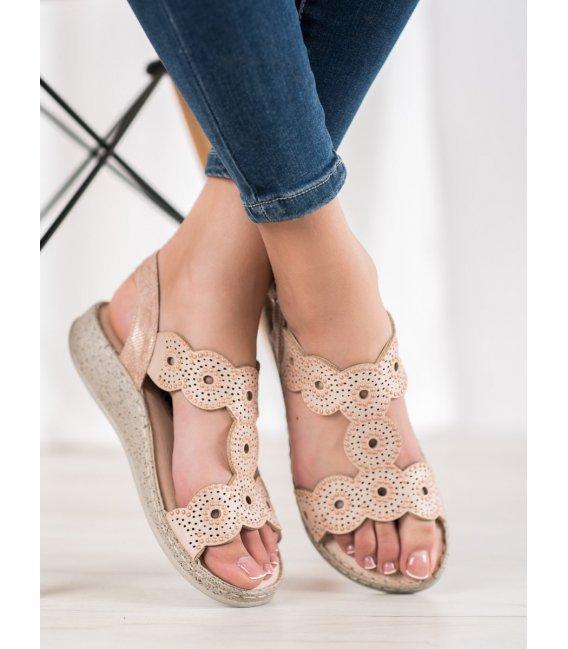 Elegantné sandále na platforme