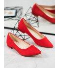 Klasické červené baleríny