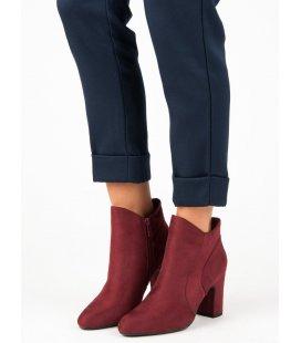 Elegantné semišové topánky K1809810BUR