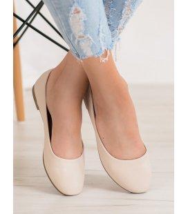 Béžové baleríny