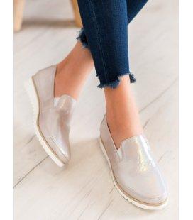 Zlaté topánky slipon