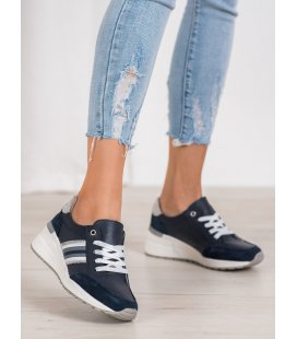 Kožené športové topánky