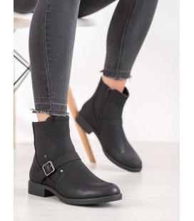 Členkové topánky so sponou