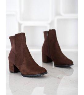 Tmavohnedé topánky