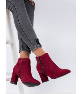 Semišové členkové topánky na zips