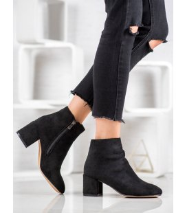 Elegantné semišové topánky