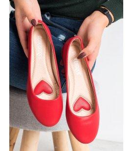 Červené balerínky