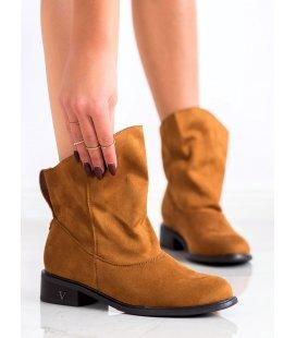 Členkové topánky so širokým zvrškov