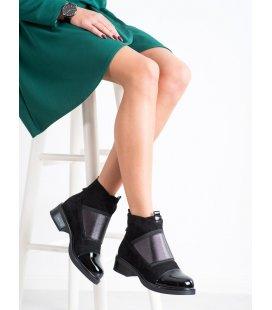 Nazúvacie členkové fashion topánky