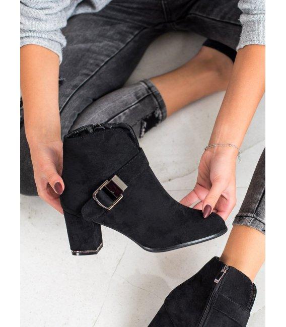 Elegantné členkové topánky s prackou