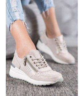 Kožené sneakersy so zipsom