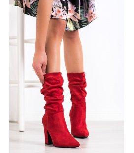 Nízke červené čižmy