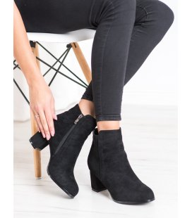 Módne čierne topánky