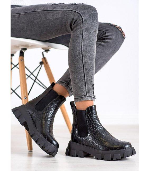 Pérka na platforme Fashion