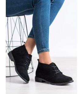 Čierne nízke topánky