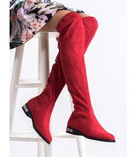 Nádherné červené čižmy