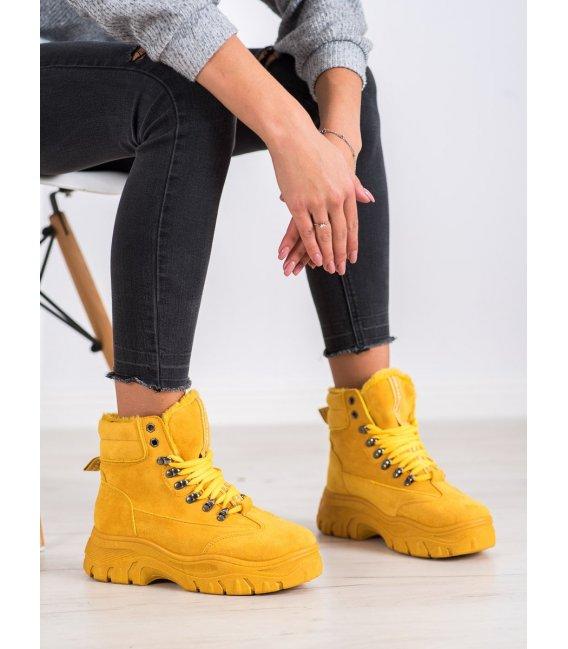Žlté workery Fashion