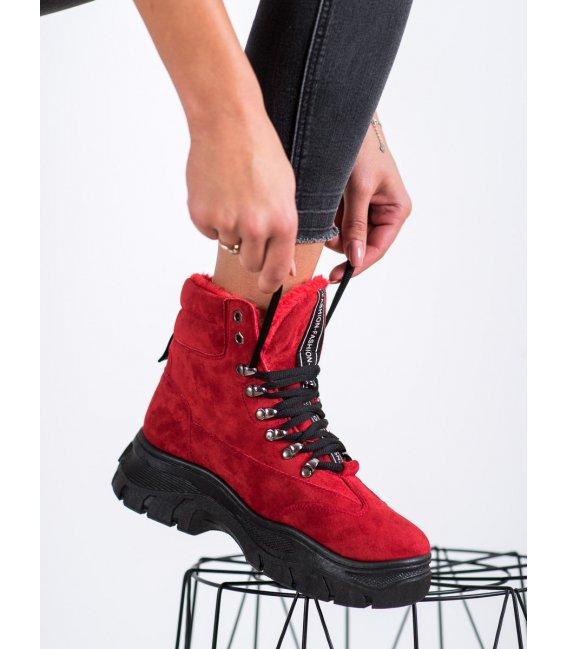 Červené workery Fashion