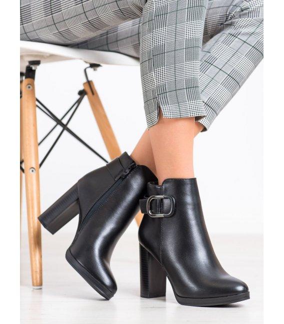 Elegantné členkové topánky so zateplením