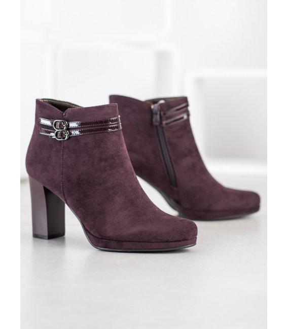 Elegantné členkové topánky s remienkom