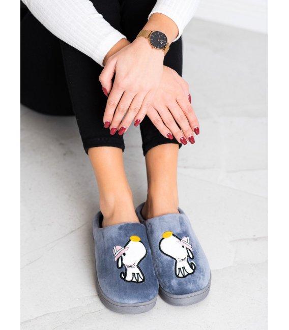 Pohodlné papuče s motívom