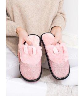 Brokátové papuče s ušami