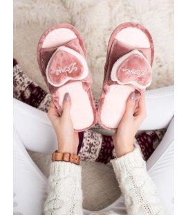 Hrejivé papuče so srdiečkom