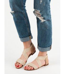 Elegantné ploché sandále