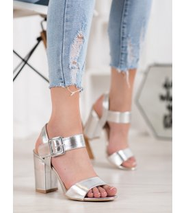 Sandály na stĺpci z eko kože