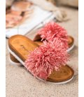 Štýlové korálové šľapky