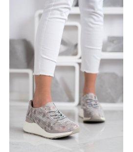 Štýlové kožené tenisky