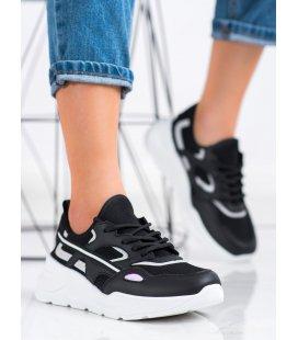 Neformálne čierne tenisky
