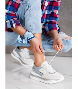 Šnurovacie topánky športové z kože