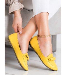 Žlté lordsy z eko kože