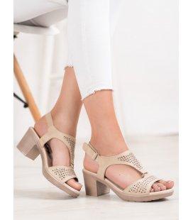 Komfortné sandále na suchý zips