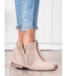Jarné členkové topánky