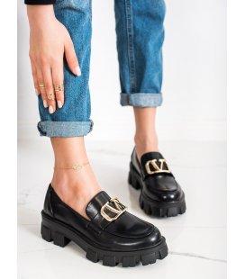 Mokasíny na platforme Fashion