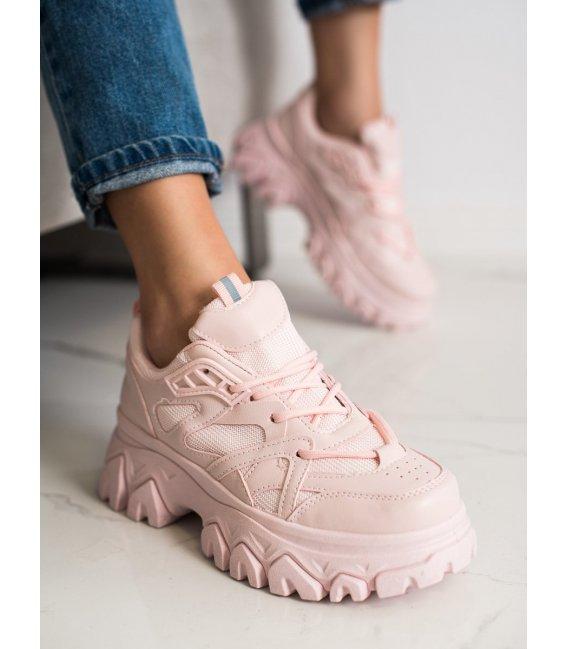 Ružové sneakersy Fashion
