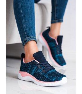 Ľahké tmavomodré sneakersy