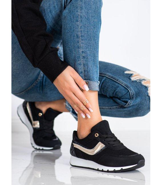 Čierne topánky športové