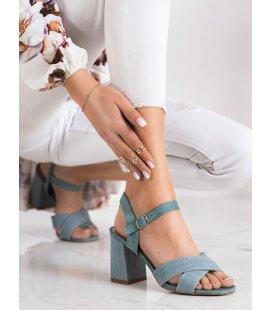 Sandálky na podpätku Vinceza
