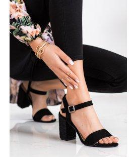 Sandálky s pleteným podpätkom Vinceza