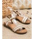 Zlaté sandálky