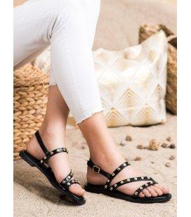 Sandálky s ozdobami